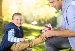 Правильные советы родителям по подбору размера детской обуви.